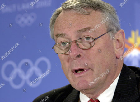 Pound World Anti-Doping Agency Chairman Dick Pound speaks about the agency's report during a press conference at the Winter Olympic media center in Salt Lake City . The Salt Lake City Winter Olympics begin on Friday Feb. 8