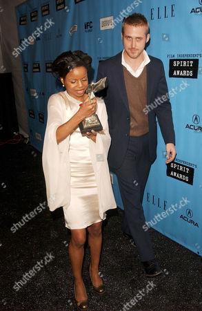 Shareeka Epps and Ryan Gosling