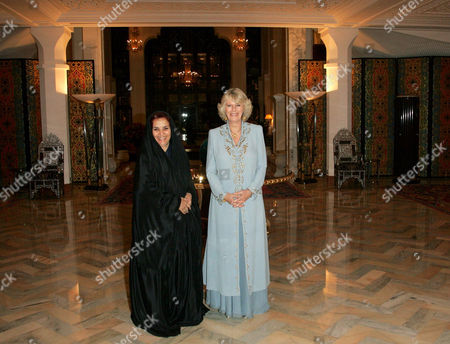 Editorial picture of Duchess of Cornwall attends a women only dinner at the royal palace, Bahrain - 25 Feb 2007