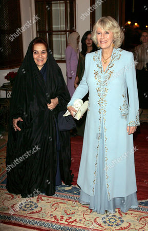 Editorial image of Duchess of Cornwall attends a women only dinner at the royal palace, Bahrain - 25 Feb 2007