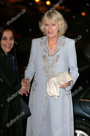Queen Sabika bint Ibrahim Al Khalifa and Camilla Duchess of Cornwall