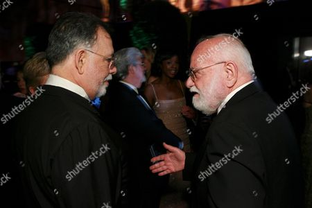 Francis Ford Coppola and Saul Zaentz