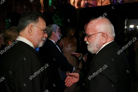 Stock Photo of Francis Ford Coppola and Saul Zaentz