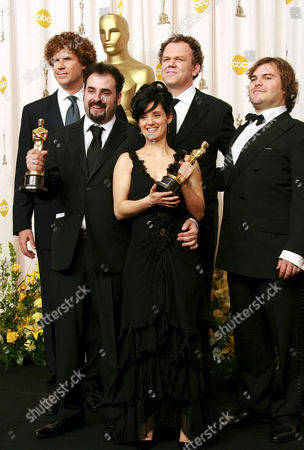 Stock Image of Will Ferrell, David Marti, Montse Ribe, John Reilly and Jack Black