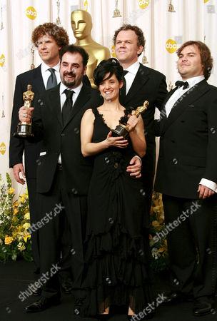 Stock Photo of Will Ferrell, David Marti, Montse Ribe, John Reilly and Jack Black