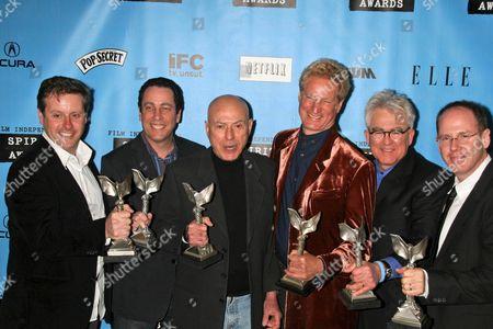 Editorial photo of Film Independent Spirit Awards press room, Los Angeles, America - 24 Feb 2007