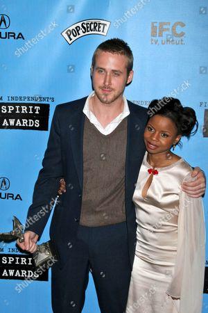 Ryan Gosling and Shareeka Epps