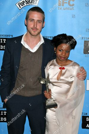 Editorial picture of Film Independent Spirit Awards press room, Los Angeles, America - 24 Feb 2007