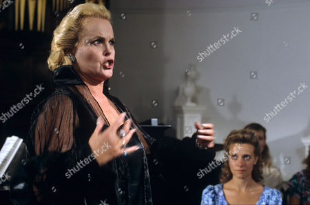 Stock Picture of Sheila Gish in 'Morse' - 1993 Episode: 'Twilight of the Gods'