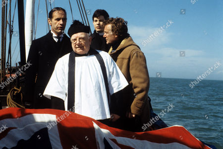 Arthur Lowe (centre) in 'Bless Me Father' - 1979