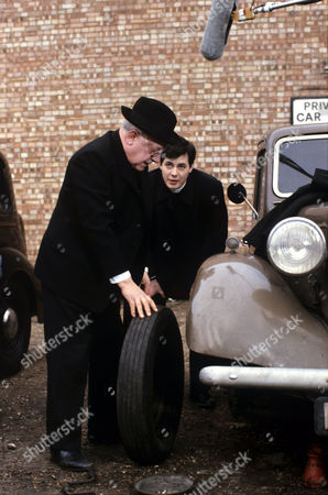Arthur Lowe and Daniel Albineri in 'Bless Me Father' - 1979