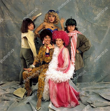 'Girls On Top' - 1985 - Dawn French ,Tracey Ullman and Jennifer Saunders, Joan Greenwood and Ruby Wax