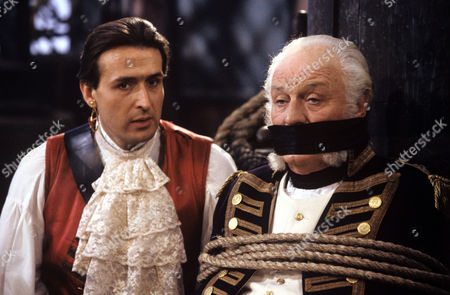 Nicholas Pritchard and Charles Gray in 'Tales from the Poop Deck' - 1992