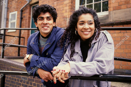 Kim Vithana (right) in 'Family Pride' - 1992