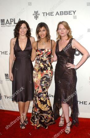Rachel Shelley, Janina Gavankar and Laurel Holloman