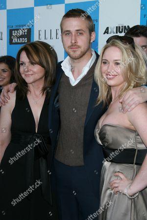 Donna Gosling, Ryan Gosling and Mandi Gosling