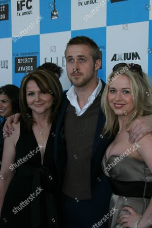Stock Image of Donna Gosling, Ryan Gosling and Mandi Gosling