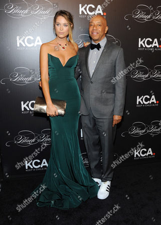 Russell Simmons, Genevieve Barker