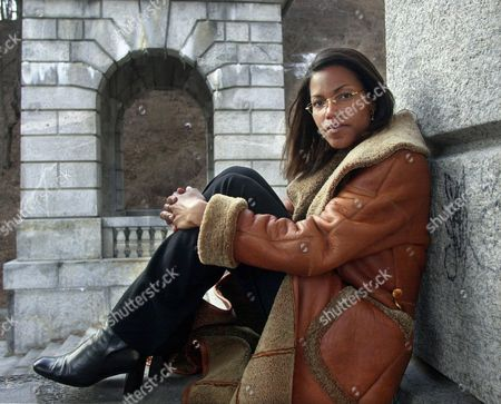 SHABAZZ Ilyasah Shabazz, daughter of Malcolm X, poses at the Kensico Dam in White Plains, N.Y. . Shabazz, said Tuesday that the family intends to provide Columbia with her father's diary, letters and other personal effects