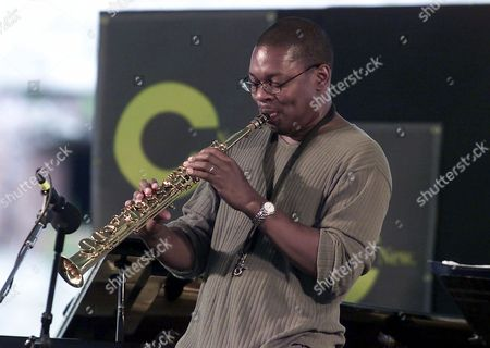 RAVI COLTRANE Saxophonist Ravi Coltrane performs at the Newport JVC Jazz Festival, at Fort Adams State Park in Newport, R.I
