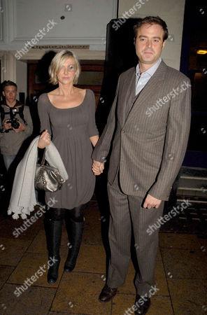 Sophie Siegle and Jamie Theakston