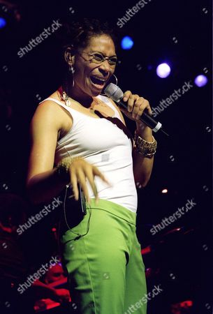 Stock Photo of FERRELL Rachelle Ferrell sings during the Verizon Music Festival at New York's Beacon Theatre, . The festival runs through Aug. 11, at venues across New York City