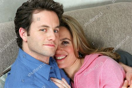 "CAMERON NOBLE Husband and wife actors Kirk Cameron and Chelsea Noble pose in New York, . Cameron and Noble appear together in the film ""Left Behind: The Movie."" The film, based on the best selling Christian novel, ""Left Behind'' by the Rev. Tim LaHaye and Jerry Jenkins, dramatizes the Bible's End Times sequences"