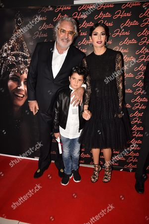Editorial photo of 'Mata Hari' TV series premiere, Rome, Italy - 19 Oct 2016