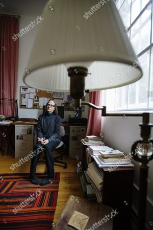 American author Lydia Davis at her home in Albany, USA