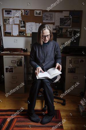 Editorial image of Lydia Davis photo shoot, Albany, USA - 08 Dec 2014