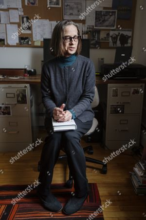 Editorial picture of Lydia Davis photo shoot, Albany, USA - 08 Dec 2014