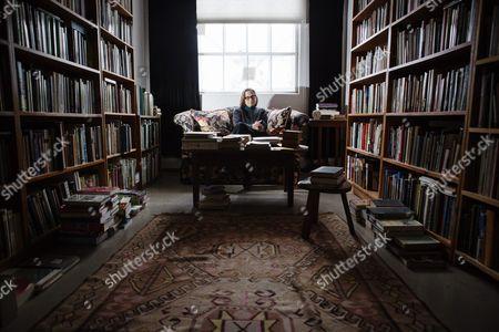 Editorial photo of Lydia Davis photo shoot, Albany, USA - 08 Dec 2014