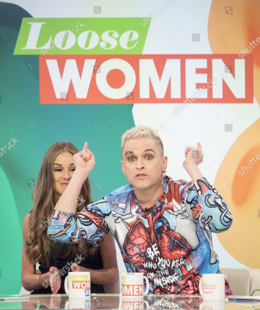 Stock Picture of Nikki Grahame and Pete Bennett