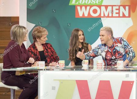 Editorial image of 'Loose Women' TV show, London, UK - 20 Oct 2016