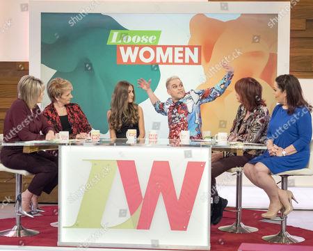 Editorial photo of 'Loose Women' TV show, London, UK - 20 Oct 2016