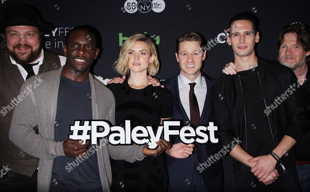 Editorial image of 'Gotham' TV series, PaleyFest Made in New York, USA - 19 Oct 2016