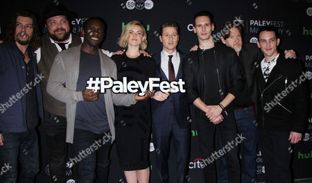 Stock Photo of Benedict Samuel, Drew Powell, Chris Chalk, Erin Richards, Benjamin McKenzie