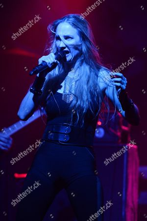 Editorial picture of Huntress in concert at Revolution, Fort Lauderdale, Florida, USA - 19 Oct 2016