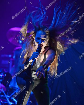 Editorial photo of Huntress in concert at Revolution, Fort Lauderdale, Florida, USA - 19 Oct 2016