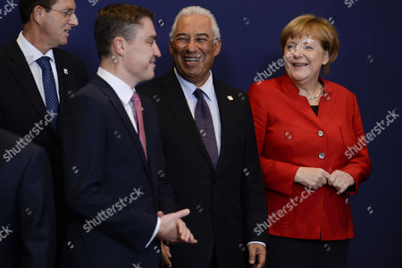 Taavi Roivas, Antonio Costa, Angela Merkel