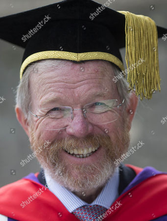 Editorial picture of Bill Bryson receives Honorary Doctorate at the University of Winchester, UK - 20 Oct 2016