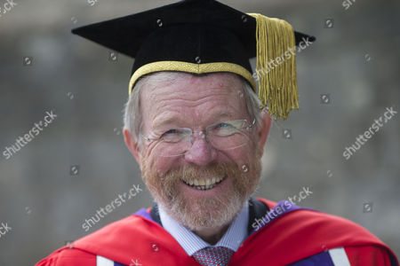 Editorial image of Bill Bryson receives Honorary Doctorate at the University of Winchester, UK - 20 Oct 2016