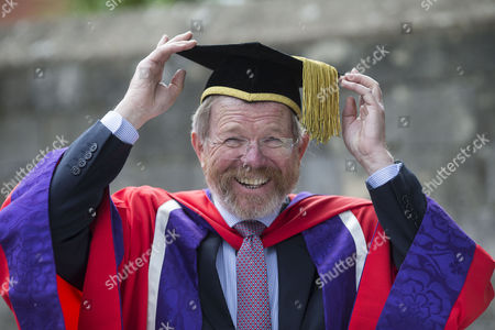 Editorial photo of Bill Bryson receives Honorary Doctorate at the University of Winchester, UK - 20 Oct 2016