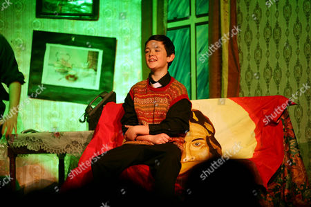 Stock Photo of 'Father Ted' being performed on stage by the local amateur dramatics society at the inaugural 'Father Ted' festival marking the ninth anniversary of the death of Dermot Morgan, the star of the series.