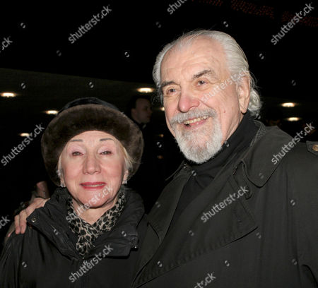 Stock Image of Olympia Dukakis and Louis Zorich