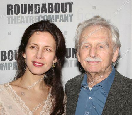 Jessica Hecht and Alvin Epstein