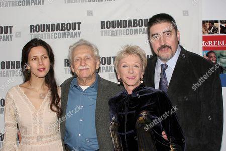 Jessica Hecht, Alvin Epstein, Elizabeth Franz and Alfred Molina
