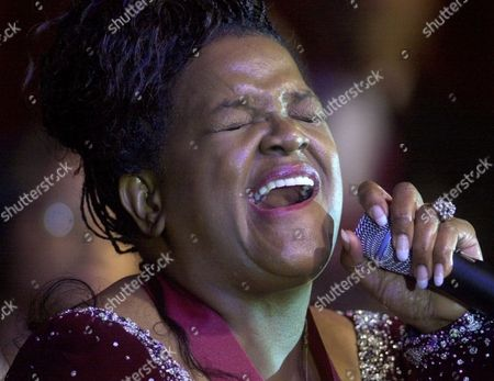 """CAESAR Gospel singer Shirley Caesar sings """"Oh Happy Day"""" at the Gospel Music Hall of Fame induction program in Franklin, Tenn. on . Caesar was one of the performers inducted into the hall"""