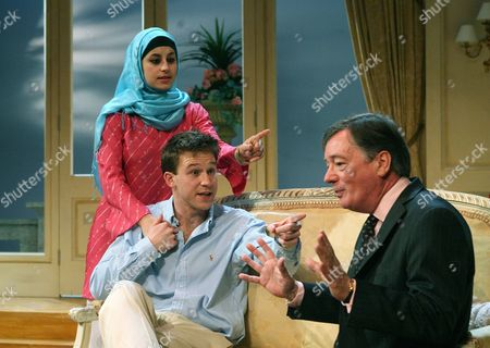 Zahra Ahmadi, Ben Righton & Jeff Rawle