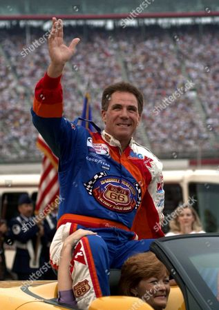 WALTRIP Darrell Waltrip waving to the crowd before the start of the NASCAR Winston Cup Series' goracing.com 500 in Bristol, Tenn., Waltrip and Cale Yarborough have nearly identical statistics to Bobby Allison, but weren't inducted into the NASCAR Hall of Fame with Allison last month. The voting panel meets Tuesday to elect the third class, and there's a chance both could be left out again